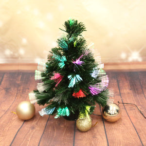 45CM MINI COLOURFUL CHRISTMAS TREE (MULTIPLE LIGHTING MODES)