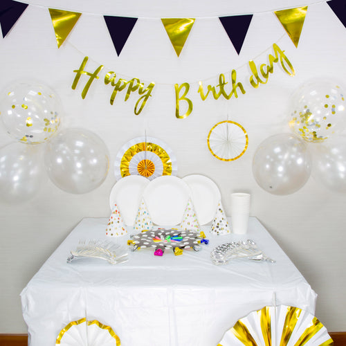 Classy Chic Themed Birthday Party Decoration Set Up (DIY)