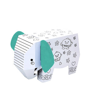 [IN-STOCK] DIY DOODLE ELEPHANT KIT