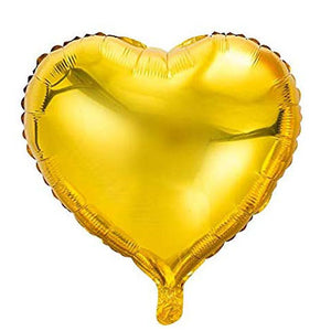"18"" Heart Foil Balloon (With Helium)"