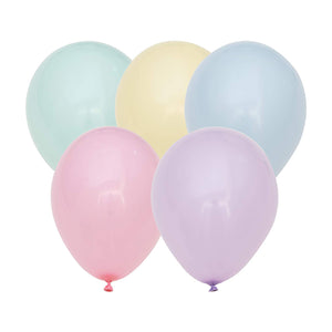 "12"" Mixed Pastel Balloon"
