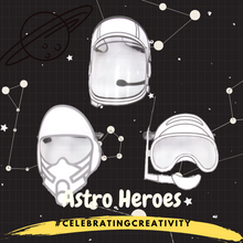 [PRE-ORDER] ASTRO HEROES D-I-Y FACE SHIELD (FAMILY SET)