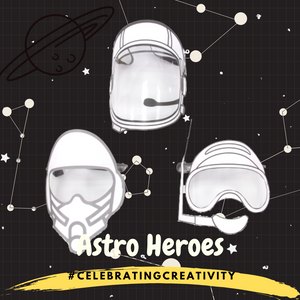 [PRE-ORDER] ASTRO HERO D-I-Y FACE SHIELD (MIXED DESIGNS INDIVIDUAL SET)