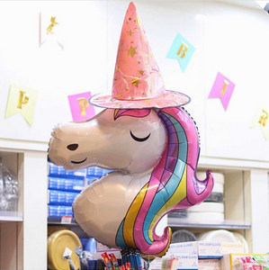 Magical Unicorn Balloon (With Helium)