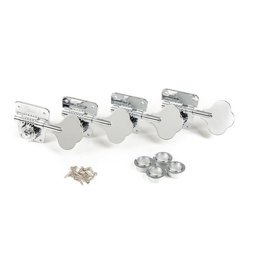 Fender Pure Vintage '70s Bass Tuning Machines Nickel Chrome (4) 0076568049