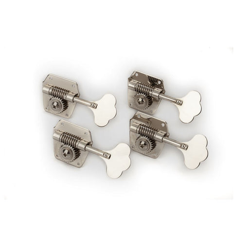 Fender Pure Vintage Bass Tuning Machines, Nickel-Plated Steel (4) 0078834049