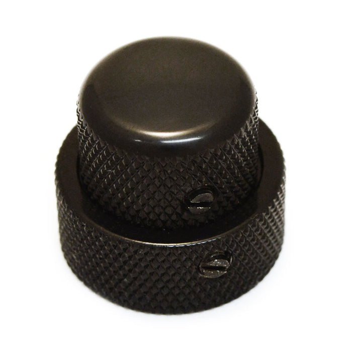Concentric Stacked Knob Set (Fits CTS Concentric Pots) Black