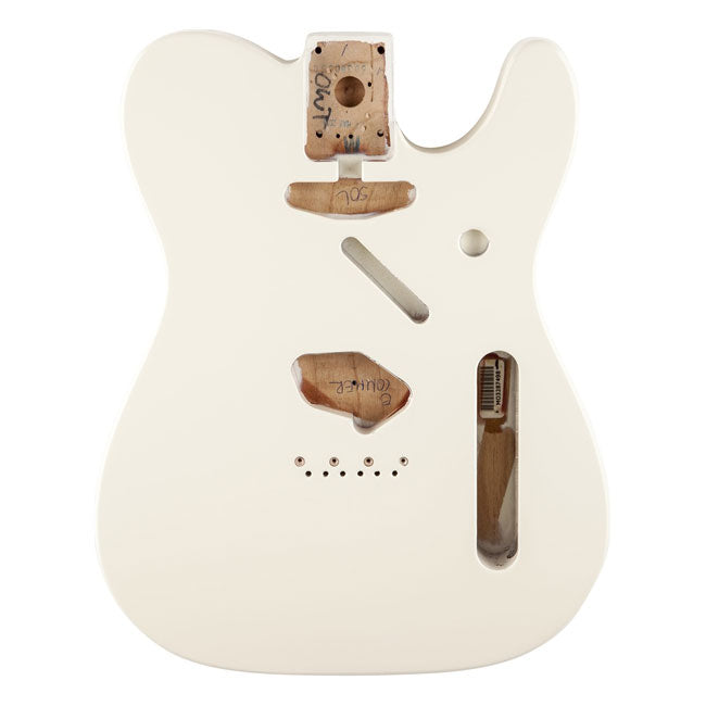 Fender Classic 60's Telecaster Body Vintage Mount Olympic White 0998006705