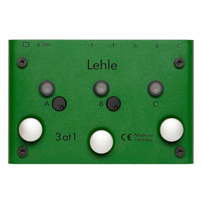 Lehle 3@1 SGOS True Bypass Pedal Switcher