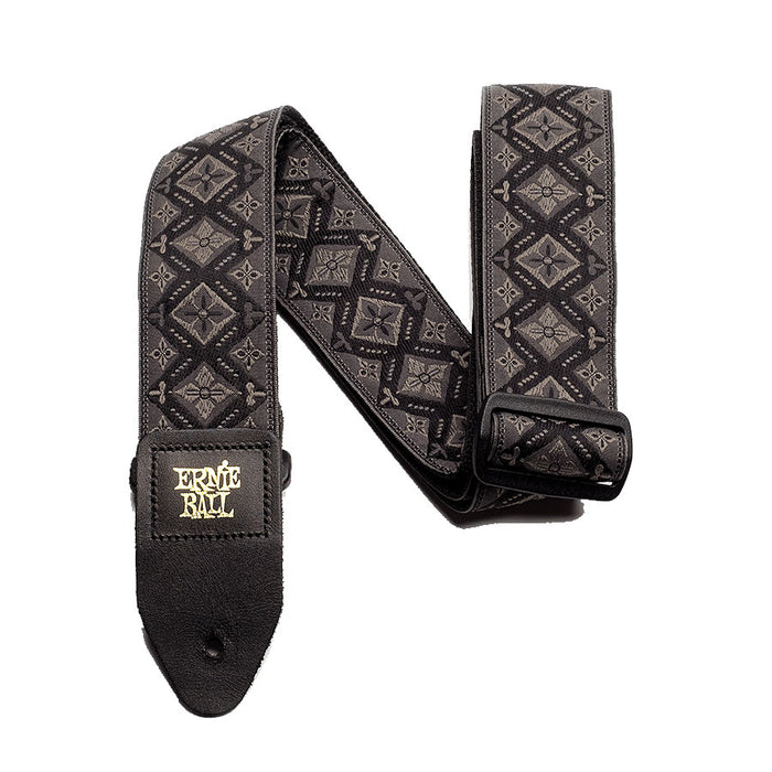 Ernie Ball Regal Black Jacquard Strap 4093