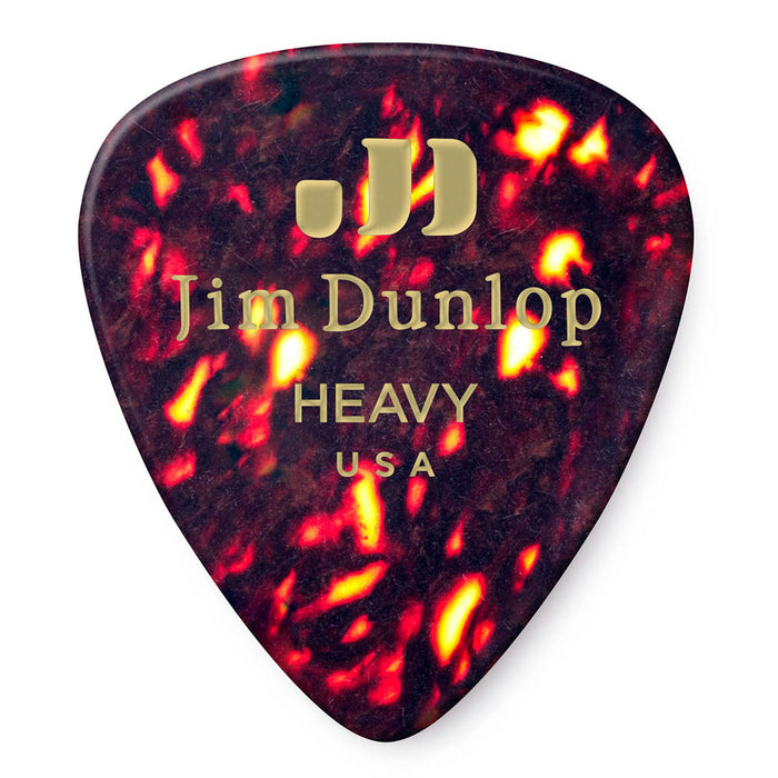 Dunlop 72-Pack Bulk Heavy Celluloid Guitar Picks 483R05HV