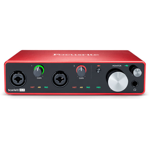 Focusrite Scarlett 4i4 3rd Generation USB Audio Interface