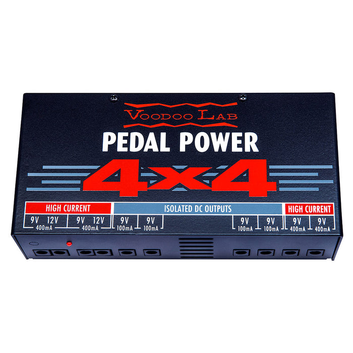 Voodoo Lab Pedal Power 4x4 Audiophile Quality 9 Volt Isolated Supply
