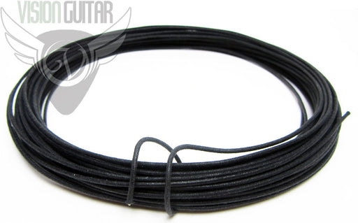 Black Cloth Push Back - Vintage Correct Single Conductor Wire - Sold By The Foot