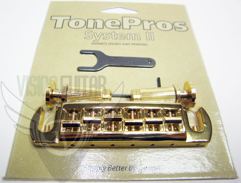 TonePros Large Locking Studs Wraparound AVT2P-G GOLD
