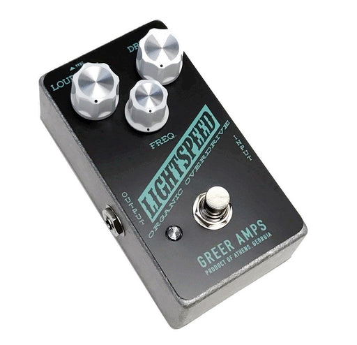 Greer Amps Lightspeed Organic Natural Overdrive - Exclusive Black/Teal Version!