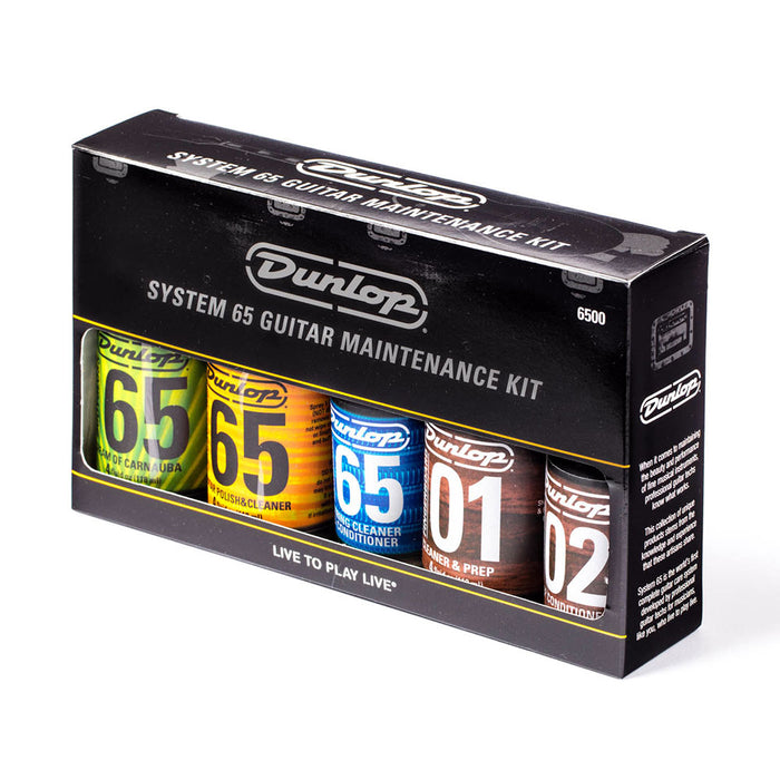 Dunlop 6500 System 65 Guitar Polish & Maintenance Kit