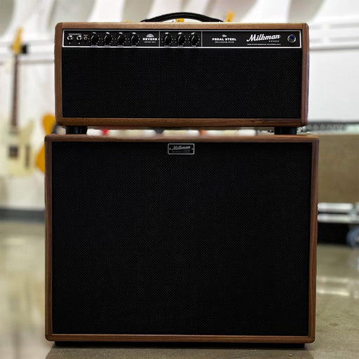Milkman Sound 85w Pedal Steel Walnut Head & 2x12 Cabinet
