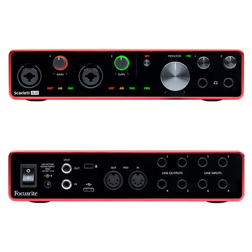 Focusrite Scarlett 8i6 3rd Generation USB Audio Interface
