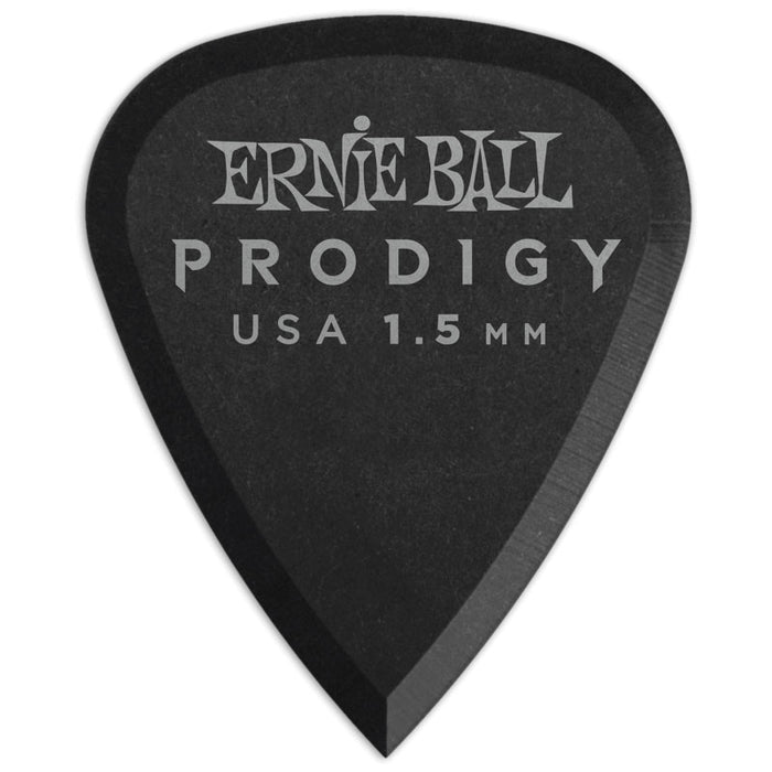 Ernie Ball P09199 1.5mm Black Standard Prodigy Picks 12-Pack
