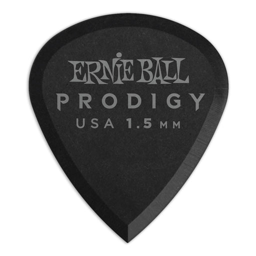 Ernie Ball P09200 1.5mm Black Mini Prodigy Picks 12-Pack