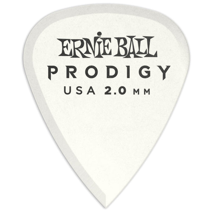 Ernie Ball P09202 2.0mm White Standard Prodigy Picks 12-Pack