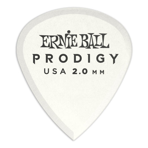 Ernie Ball P09203 2.0mm White Mini Prodigy Picks 12-Pack