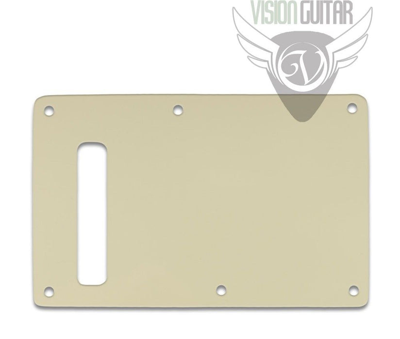 Strat 3-Ply Parchment BACKPLATE .090 Thick STB-55