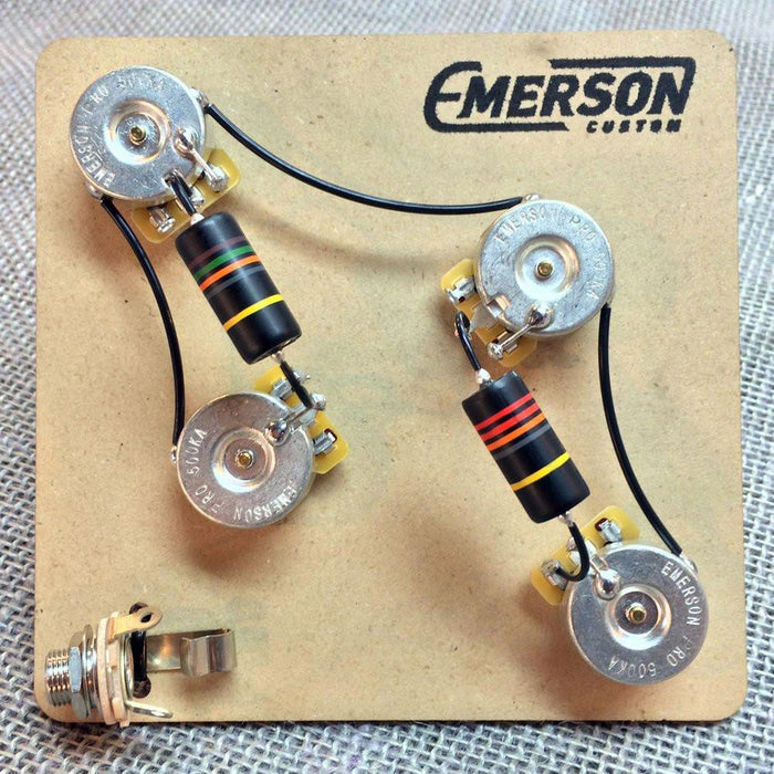 Emerson Custom Pre-Wired Kit For 4-Knob PRS Guitars