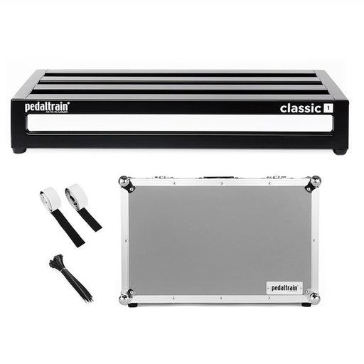 "Pedaltrain PT-CL1-TC CLASSIC 1 Pedalboard With Tour Case 22"" x 12.5"""