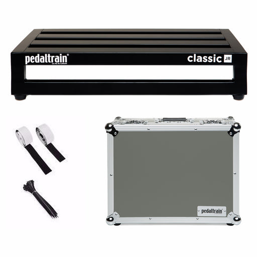"PedalTrain PT-CLJ-TC Classic JR Pedalboard With Tour Case 18"" x 12.5"""