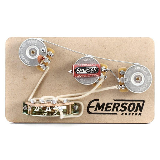 Emerson Custom 5-Way Strat Prewired Kit (500k Pots .022 Cap)