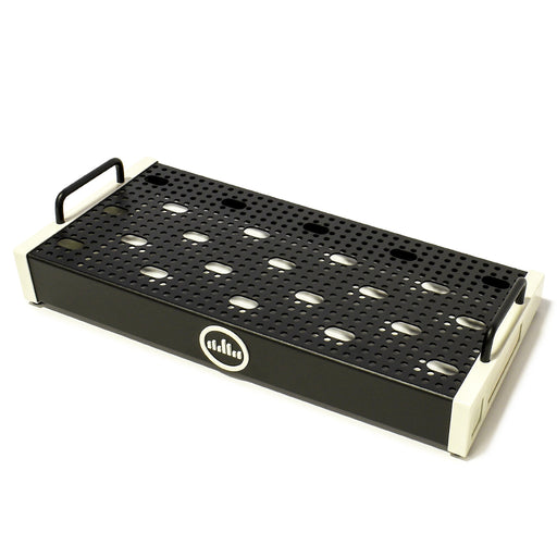 "Temple Audio Solo 18 (18"" x 8.5"") Pedalboard Temple Vintage White SOLO-18-VW"