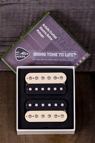 David Allen Pickups - ALLEY CATS Humbucker Pickup Set - Zebra Coils