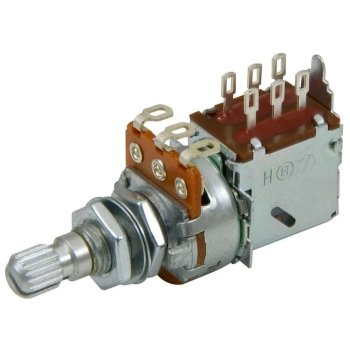 500K DPDT Push-Pull Linear Taper Mini Potentiometer