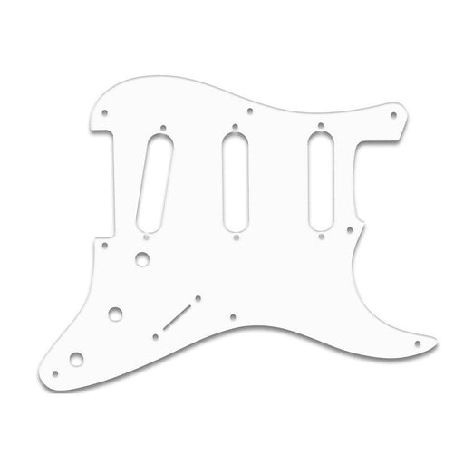 Fender 1-Ply White 8-Hole Mount S/S/S Stratocaster Pickguard 0992017000