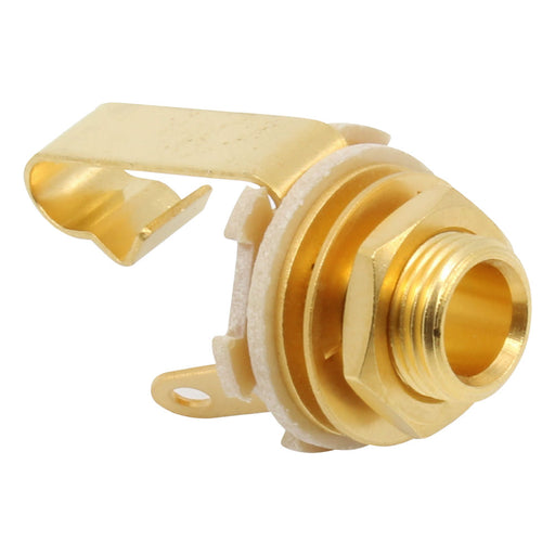 "Switchcraft #11 Mono 1/4"" Input Jack Entirely Gold Plated"