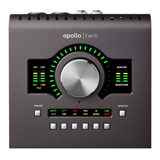 Universal Audio Apollo Twin MkII Duo Core Processing Audio Interface Mac/Win