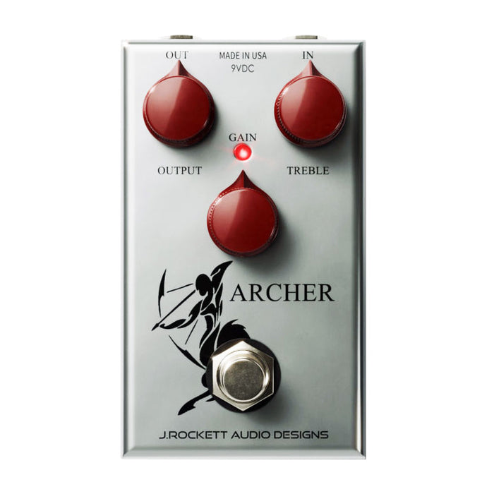 J. Rockett Archer Overdrive Boost Pedal - Buffered Switching