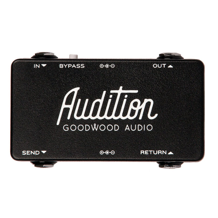 Goodwood Audio Audition Pedalboard FX Loop