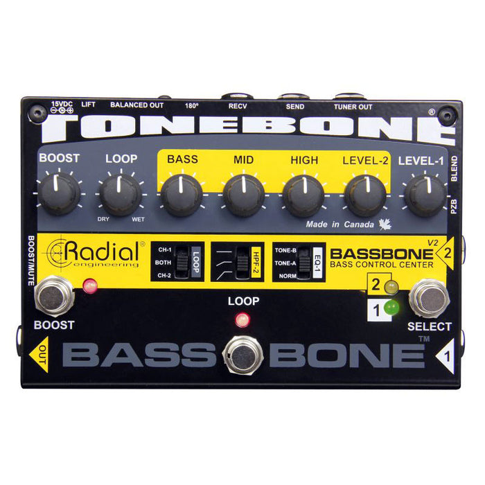 Radial Engineering Tonebone Bassbone V2 Bass Preamp & Boost