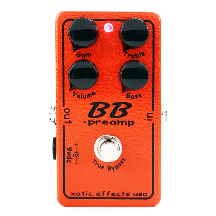 Xotic Effects BB Preamp Pedal Bluesbreaker Distortion Overdrive