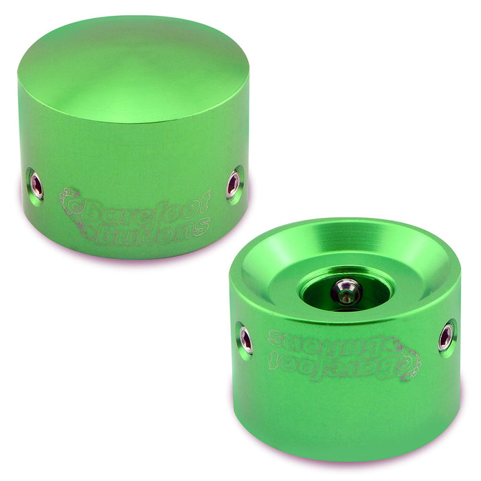 Barefoot Buttons - Version 1 Tallboy Green (Set of 2)