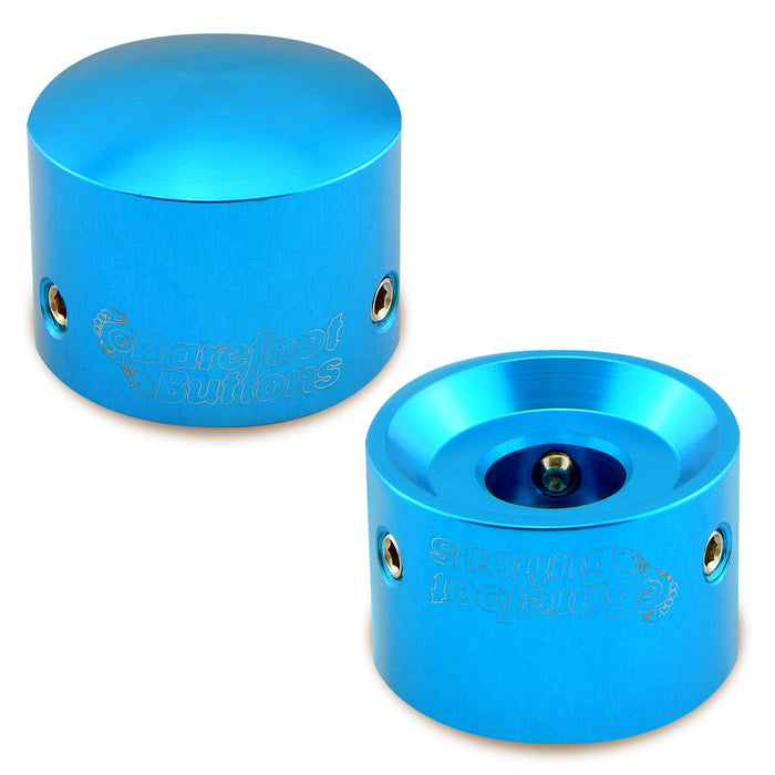 Barefoot Buttons - Version 1 Tallboy Light Blue (Set of 2)