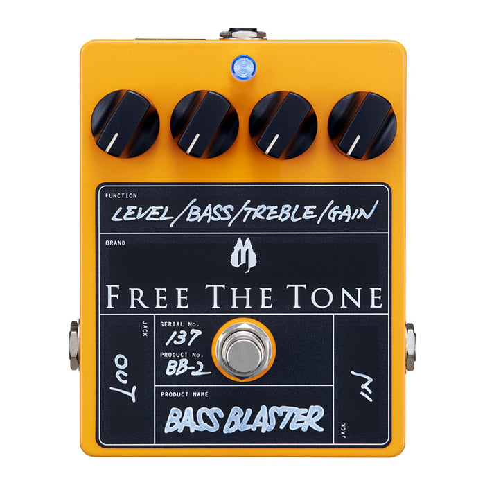 Free The Tone BB-2 Bass Blaster - Bass Overdrive Pedal