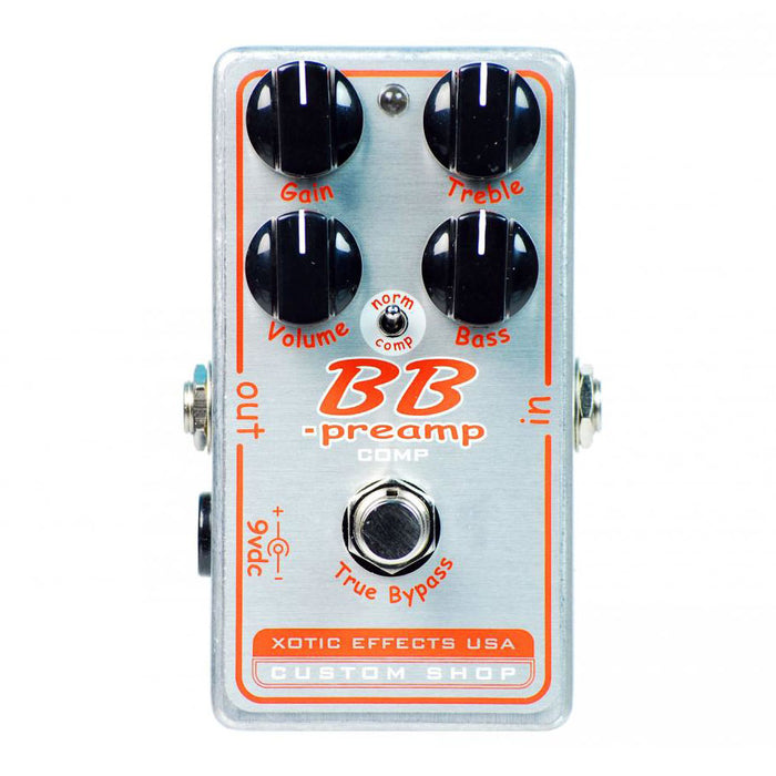 Xotic Effects BBP Comp BB Preamp Compressor Pedal