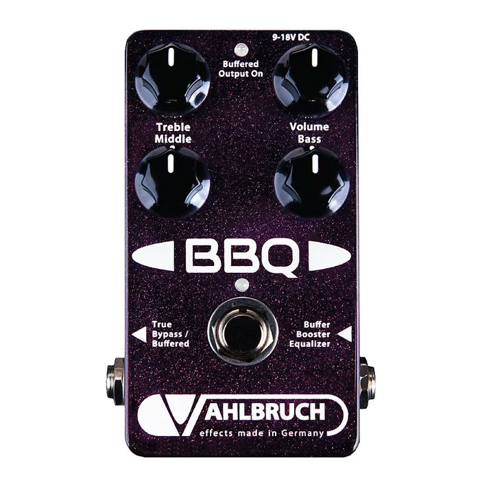 Vahlbruch BBQ Buffer Booster Equalizer Pedal
