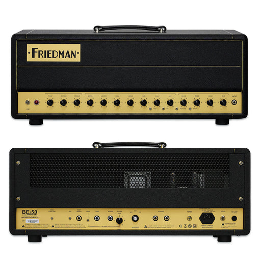 Friedman Amps Hand-Wired BE-50 Deluxe Amplifier Head (Open Box)