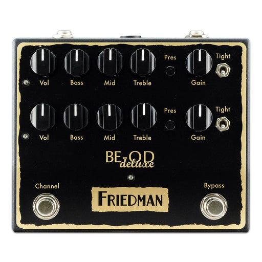 Friedman BE-OD Deluxe Dual Overdrive Pedal