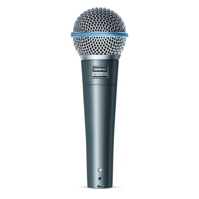 Shure Beta 58 A High-Output Supercardioid Dynamic Vocal Microphone